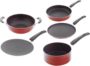 Classic Non Stick 5 Pcs Cookware Set