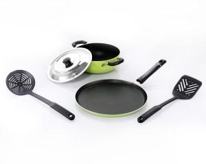 Sumeet Nonstick Festive Five Cookware Set