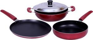 KG Star KG STAR NONSTICK COOKWARE COMBO Cookware Set