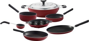 Brilliant 7pcs Non-Stick Cookware Set With Crystal Chain Cookware Set