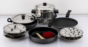 Mahavir 10pc Cookware Set Cookware Set