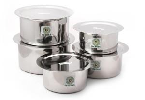 Coconut Tope & Lids Cookware Set