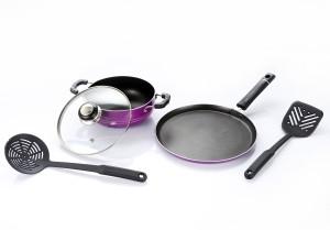 Sumeet Nonstick Celebration Five Cookware Set