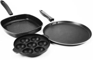 Sumeet Nonstick Trinity Cookware Set