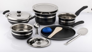 Mahavir Cookware Set