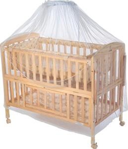 Mee Mee Baby Wooden Swing Mosquito Net Cot Beige Best Price In India