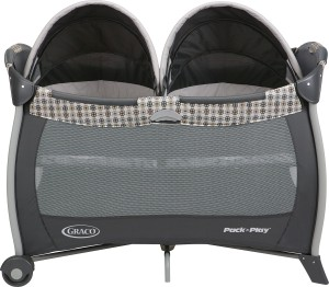 Graco Pack N Play Playard With Twins Bassinet Vance Cot Multicolor