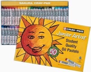 Sakura Round Shaped Oil Pastel Crayons