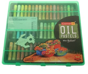 Camlin Art Round Shaped Oil Pastels Crayons