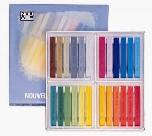 Sakura Square Shaped Pastel Crayons