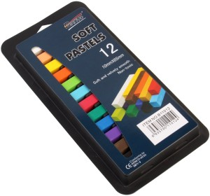 d52add476 Bianyo Rectangle Shaped Soft Pastels Crayons Set of 12 Multicolor ...
