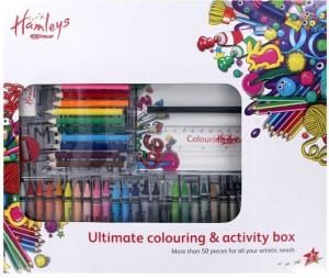 Hamleys Round Shaped Wax Crayons