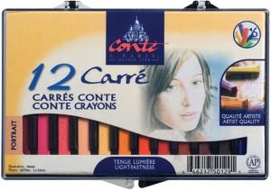 Conte a Paris Square Shaped Crayon