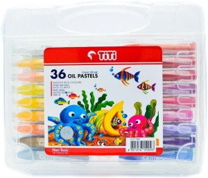Titi Rectangle Shaped Oil Pastel Crayons