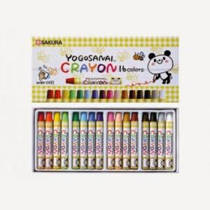 Sakura Round Shaped Wax Crayons