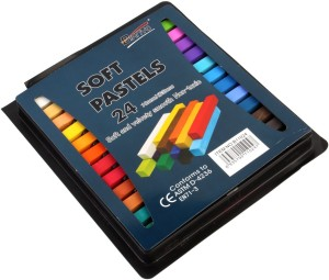 Bianyo Rectangle Shaped Soft Pastels Crayons