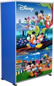 BigSmile Furniture BigSmile Kids Wardrobe - Micky Mouse Engineered Wood Cupboard