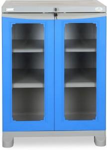 Nilkamal FS2DBL GRY DBL Plastic Almirah ( Finish Color - Deep Blue )