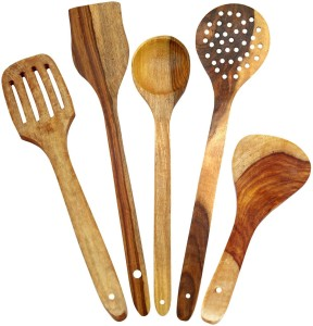 Craftgasmic Wooden Cooking Spoon Set