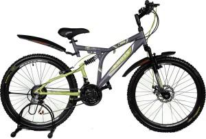 21ca88a236ef9 Kross K 40 21Speed Disc 26 Grey Green 402232 Mountain Cycle Grey ...
