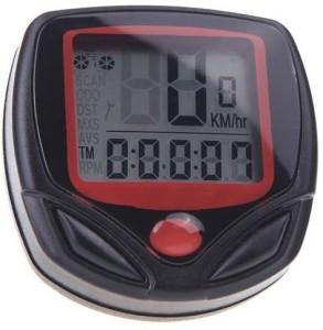 Aeoss Waterproof Digital LCD Computer Odometer Speed meter 14 Functions Wired Cyclocomputer