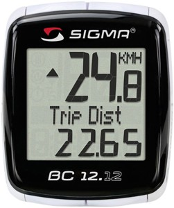 Sigma Sport BC 12.12 Wired Cyclocomputer