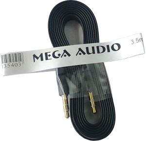 Mega Audio Flat AUX Cable