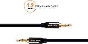 Amkette Audio Gold Plated AUX Cable