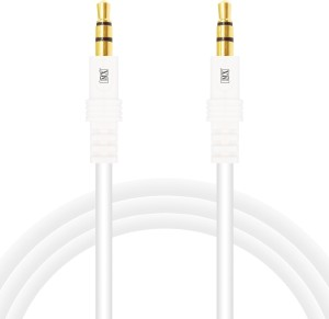 MX 3.5mm Audio Stereo Cord for Mobile Phone Mp3 MP4 Player Tablet iPod PC and Laptop - 3 Mtrs AUX Cable
