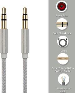 Jabox Premium Gold Plated AUX Cable