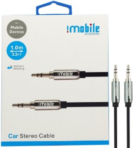 I Mobile 1 M Aux Cable Car Stereo Audio Cable