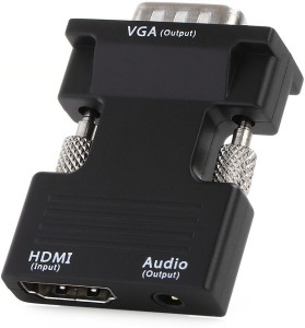 Smart Tech HDTV Female to VGA Out with Audio converter HDMI Adapter