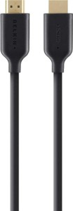 Belkin HDMI-M/M-1M-High Speed W/Ethernet F3Y021bf1M (Black Gold) Data Cable