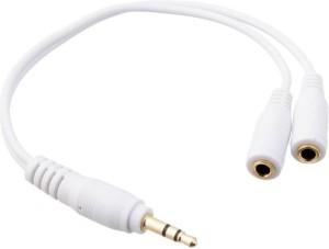 ShoppingKiSite 3.5mm Stereo Audio Headphone Earphones Splitter Connector Music Sharing Device Headphone Splitter
