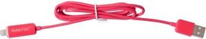 KolorFish LED Lightning 8 PinUSB Charging Data Sync Pink Lightning Cable