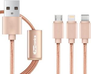 Portronics Konnect 3 Lightning Cable