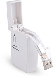 G&S ENTERPRISES Creative Silver Cigarette Lighter Style Lightning USB Cable for iphone Lightning Cable