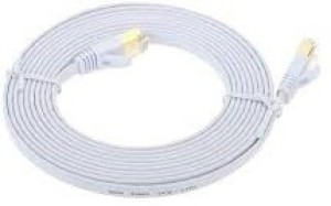 TechGear Cat 7 Ethernet Network Cable Flat Gold Plated 30m Network Cable