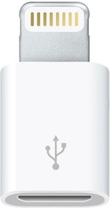 White Panther Micro USB to 8 Pin Sync & Charge Cable