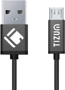 TIZUM Indestructible (1.2 meter/ 4 Feet) Fast Charging USB Cable