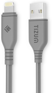 TIZUM 8 Pin Lightning to USB Premium Power Grid Cable (4 ft / 1.2 mtr) Quick Charging & Data Sync Cable USB Cable