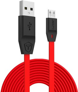 Tukzer XL 6.6 Feet Premium Tangle Free Micro-USB to USB Fast Charging up to 2.4 Amp & Sync USB Cable