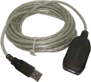 Krown High Quality USB 3.0 Extension Cord 10 Mtr - Male A to Female A USB Cable