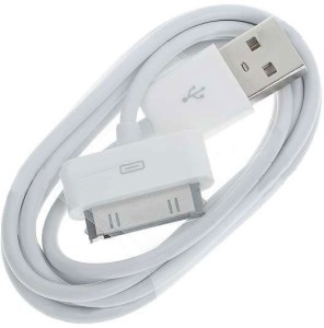 VRV Data Sync & Charger for iPhone 4 / 4s / 3G, iPod Nano, 30PIN to USB Cable