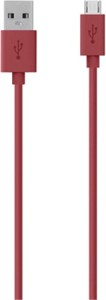 Belkin F2CU012bt04-RED USB Cable
