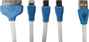 MAK 4in1-White USB Cable