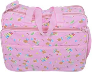 Kidzvilla Mother Bag Pink Color Backpack Diaper Bag