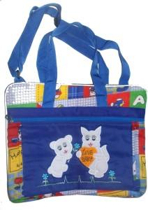 Glitter love tag Messenger Diaper Bag