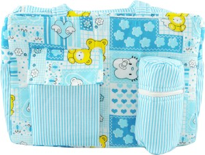 Ole Baby Big Multi-Utility Little Hearts Amazing Print Tote Diaper Bag