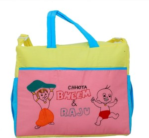 Kuber Industries Diaper Baby Bag , Nappy Changing Bag , Mamma's Bag (Chota Bheem) Nursery Bag